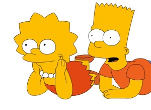Protip : Bart and Lisa had to learn how to count in base-8 LOL